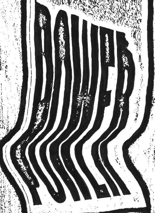 Power, by Dan Bina #ink #ny #bina #power #dan #paper #distortion #art #type #drawing #brooklyn