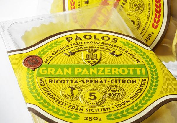 Italian packaging design for Paolo Robertos Italian packaging design for Paolo Robertos #packaging #italian #pasta