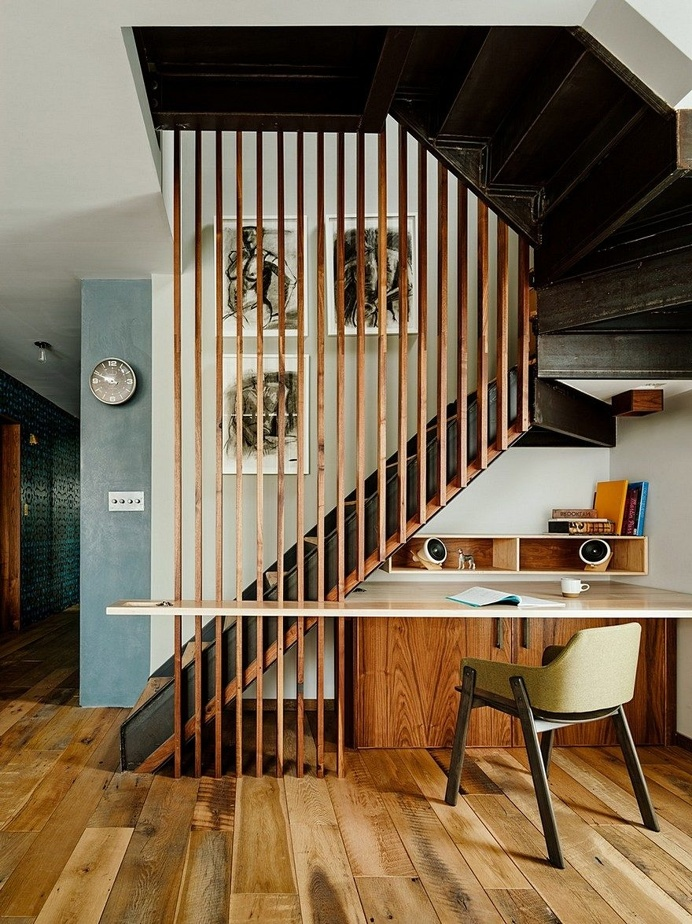 Vinegar Hill Apartment Features Modern Clean Detailing and Natural Materials 6