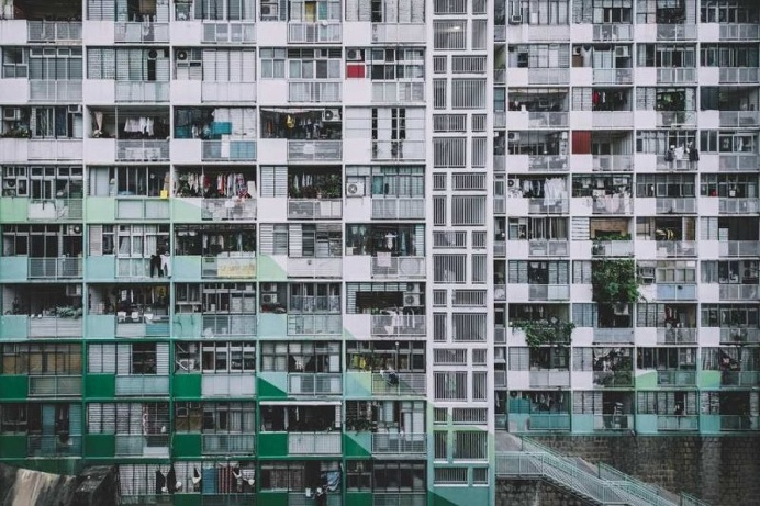 Architectural Patterns of Hong Kong's Buildings by Vivien Liu