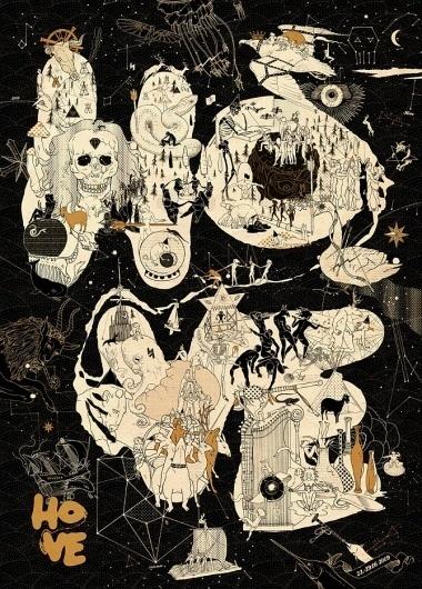Brenneriveien #norway #festival #hove #brge #illustration #bredenbekk #poster #music