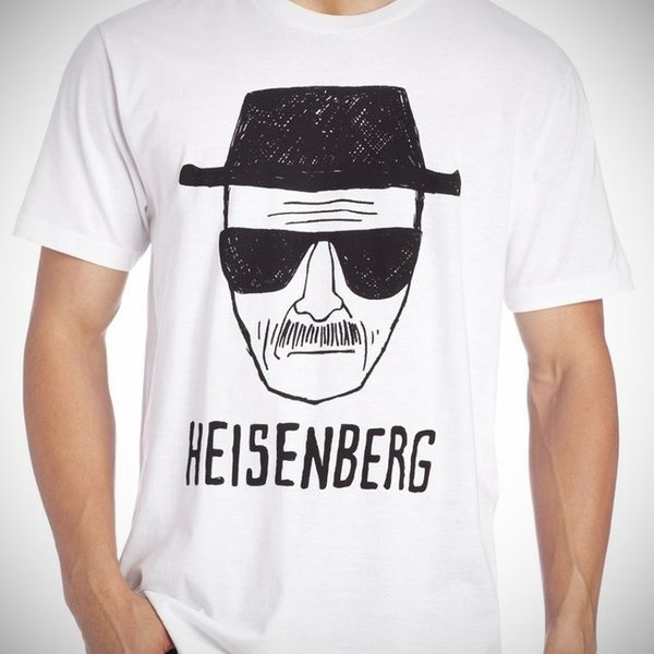 Breaking Bad Heisenberg Short Sketch Tee #breaking #bad #shirt
