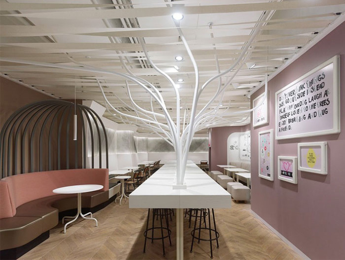 Restaurant Decor Inspired by Nature