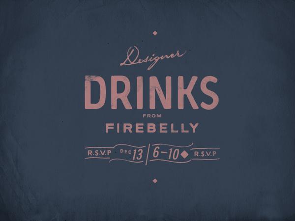 All sizes | Designer Drinks | Flickr Photo Sharing! #type