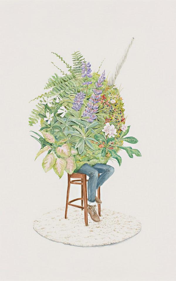 by Carmel Seymour #illustration #seymour #painting #carmel