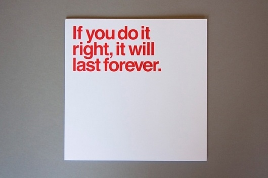 """If you do it right, it will last forever."" - Massimo Vignelli #massimo #helvetica #vignelli"