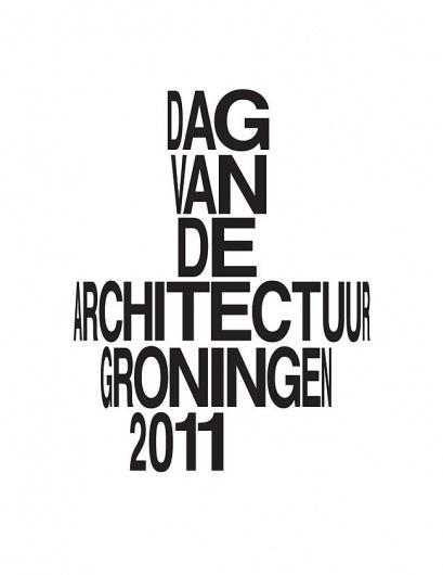 Day of Architecture Groningen | Identity Designed