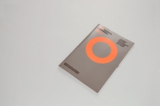 Open Studios Cornwall 2007-2010 Event Identity, Guide and Posters | Two #cover #design #graphic #magazine