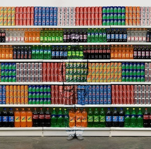 The invisible Man by Liu Bolin #inspiration #photography #illusion