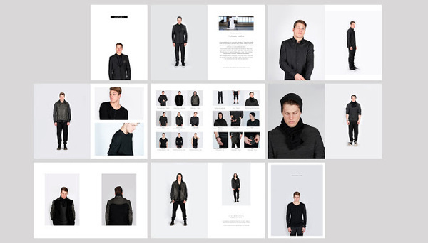 Pages #fashion #layout #design #page