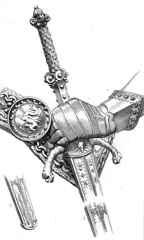 Knight Attire #illustration