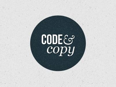 Dribbble - Code and Copy by Jessie Wyatt #simple #logo