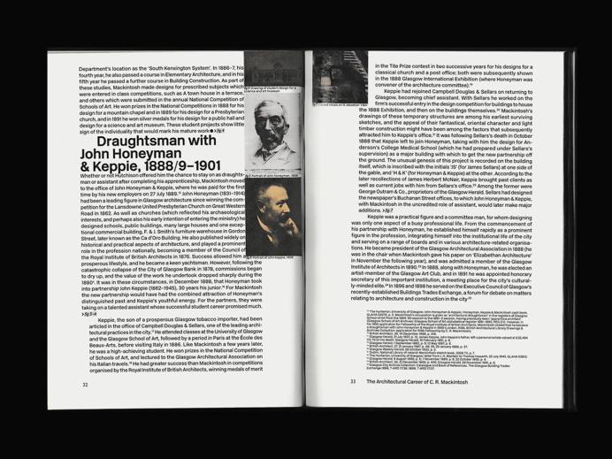 "nizarkazan: "" GSA book Book about The Glasgow School of Art, building designed by Charles Rennie Mackintosh 196 pages Nizar Kazan """