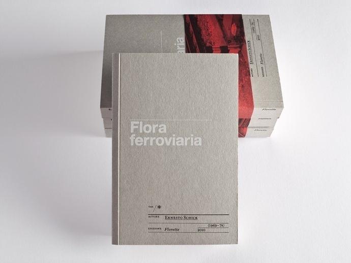 Flora Ferroviaria #cover #fabric #design #book
