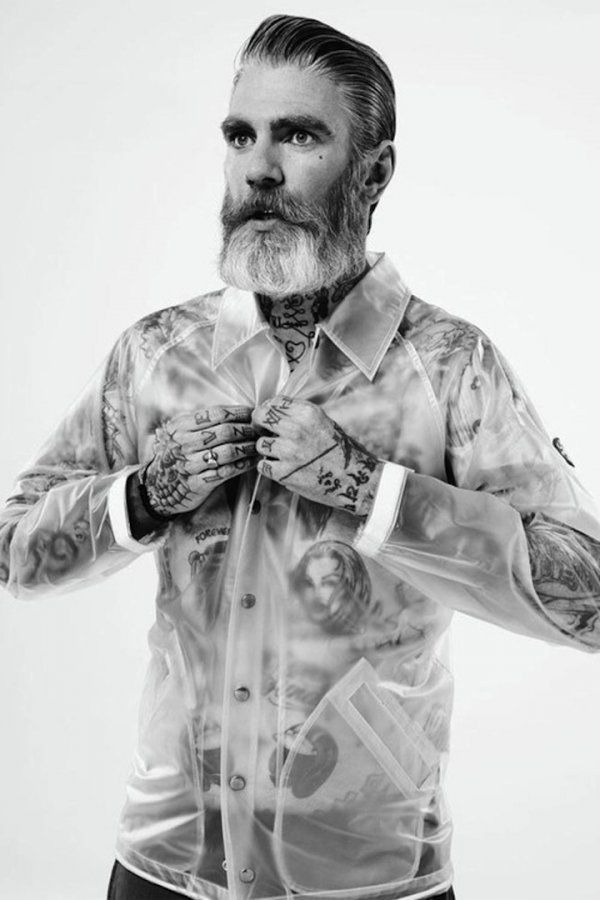 Miles Better shot by Laurence Ellis |Â Paranaiv #fashion #photography #tattoos