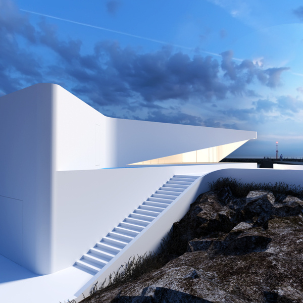 Architectural Concepts by Roman Vlasov | Inspiration Grid | Design Inspiration #architecture #white