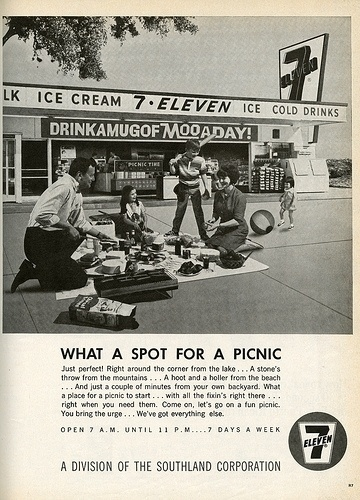 Vintage 7 Eleven Ad | Flickr - Photo Sharing! #corporate #advertisement #vintage