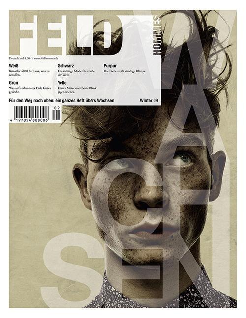 The autumn/winter issue of Feld Hommes magazine #magazine