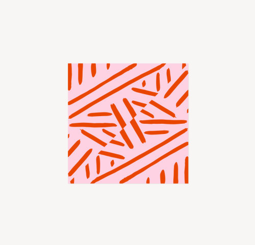 patterns that happened (may series) - 2 #pattern #textiles #print #design #art #illustration #leriquiqui #red #pink #stripes #lines #minimal