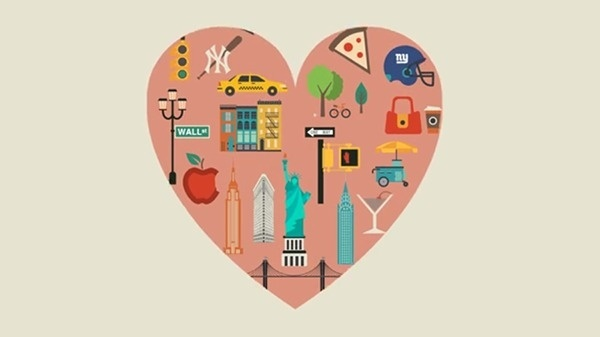Animated New York City guide #animation #guide #city #design #travel #illustration #york #new