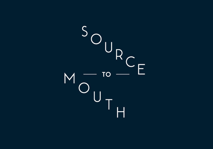 Source to mouth logo #water #adventure #map #vintage #logo #compass #blue #nautical
