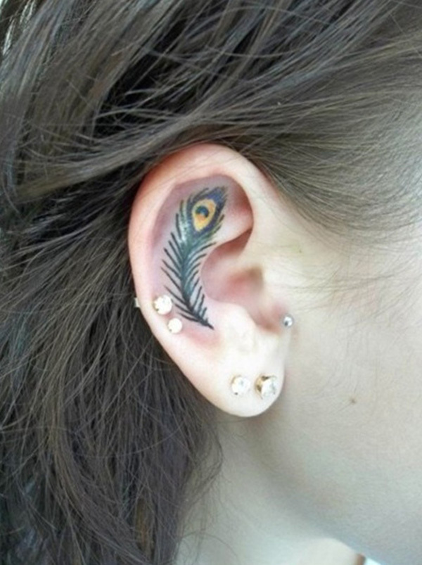 55 Incredible Ear Tattoos #ear #tattoos