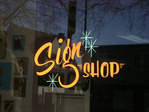 Sign Painting #lettering #storefront #sign #painted #painting #hand
