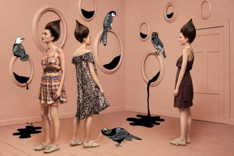 Ytligheter #fashion #birds #monki