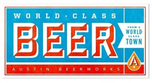 Brand Identity | Austin Beerworks | Helms Workshop #vector #branding #typography