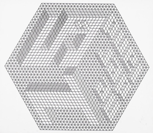 soggetti smarriti #black #white #geometric #labyrinth