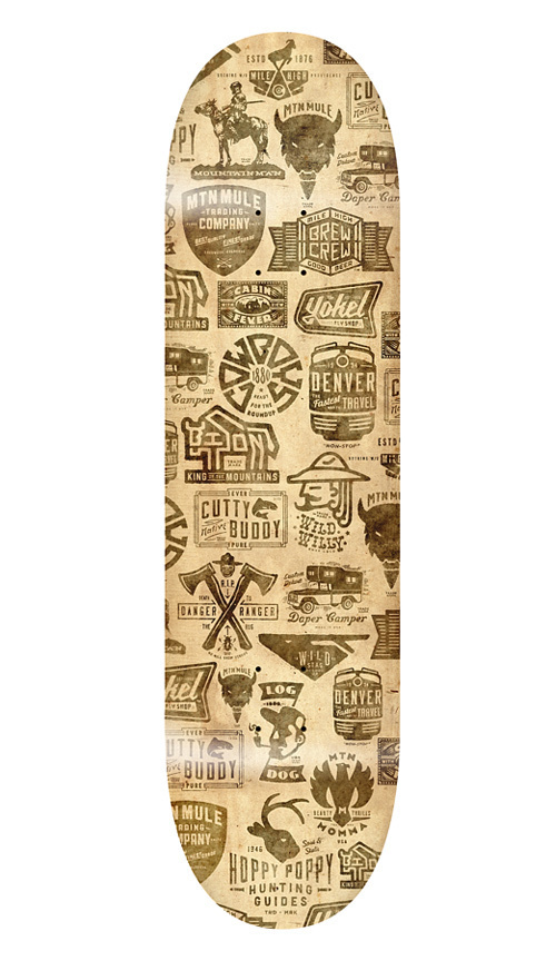 THINKMULE™ #deck #logo #skate #vintage