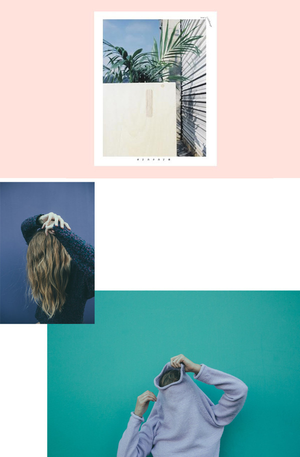 Synonym Issue 3 / Afton Hakes & Chantal Anderson #print #layout #photography #editorial
