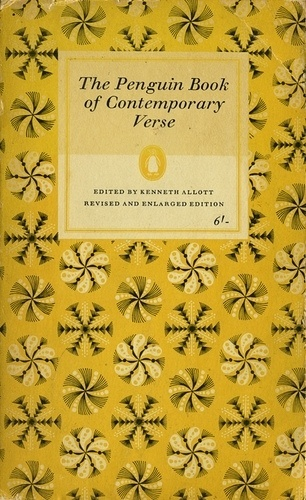 All sizes | The Penguin Book of Contemporary Verse | Flickr - Photo Sharing! #cover #design #graphic #book