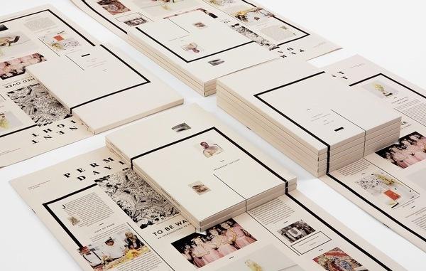 Permanent Daylight #print #layout #edition #journal