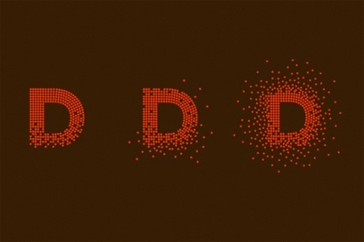 D is for Design and Dots - Brand New #boston #museum #design #graphic #identity