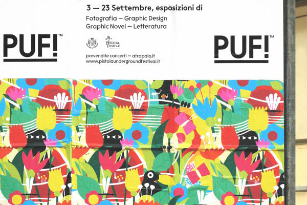 PUF!xe2x84xa2 Festival - Brand Identity #plants #festival #celebration #print #design #graphic #culture #illustration #identity #signage #typography