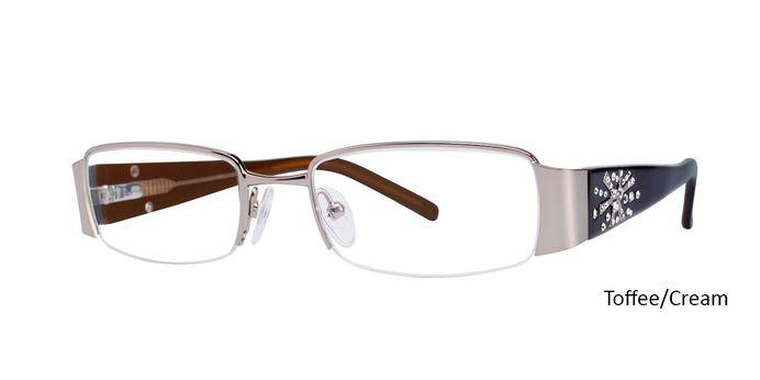 Toffee/Cream Vivid Eyeglasses Vivid Boutique 5011.