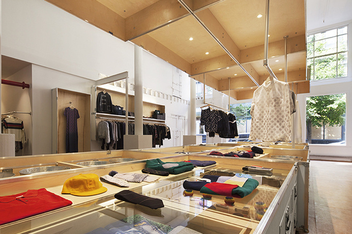 band of outsiders store by lot ek new york city #layouts #creative #inspiration #interior #design #store #retail