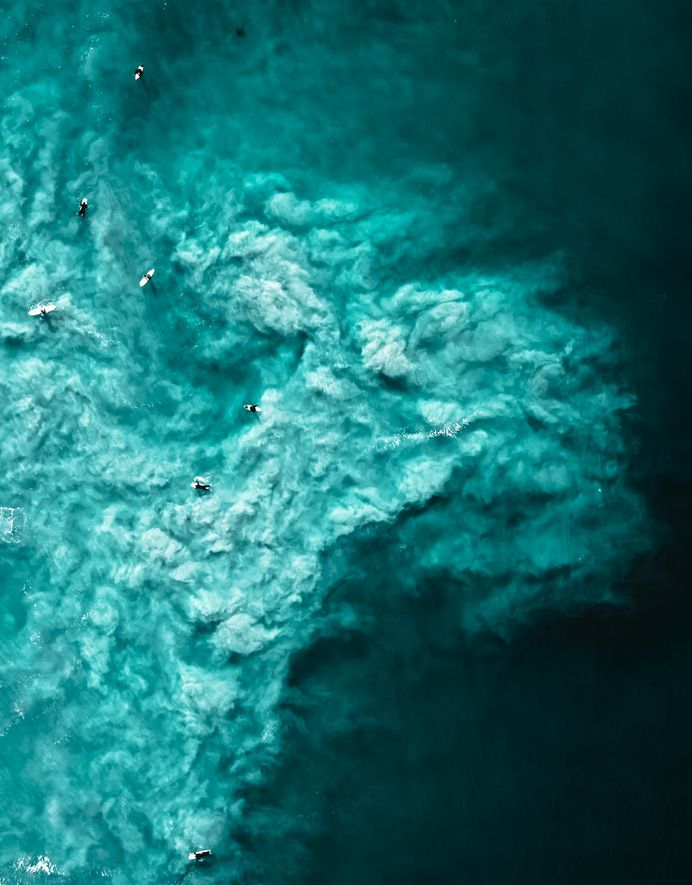 Finding calm in chaos.... photo by Adam Krowitz (@thedroneman) on Unsplash