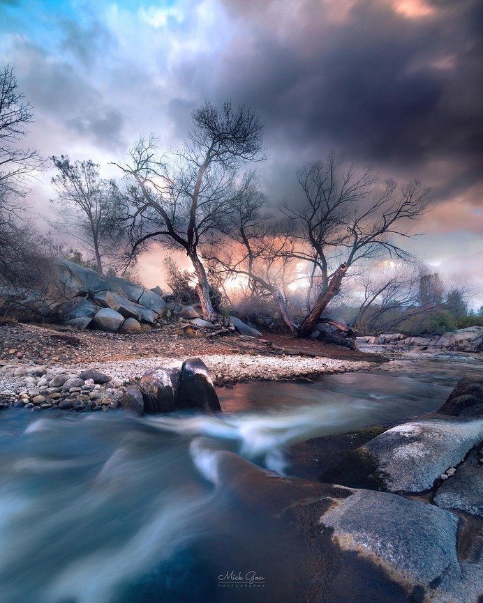 Gorgeous Natural Landscape in California by Mick Gow