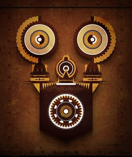 April on the Behance Network #steampunk
