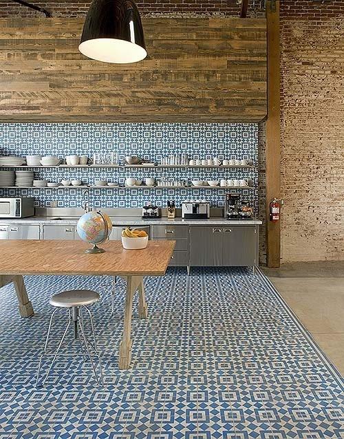 BiscuitStudiosKitchen GranadaTileFez HR #interior #tiles #design #decor #kitchen #deco #decoration