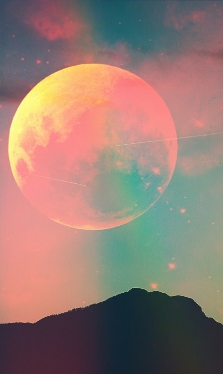 alkd;fjakds #colorful #space #moon