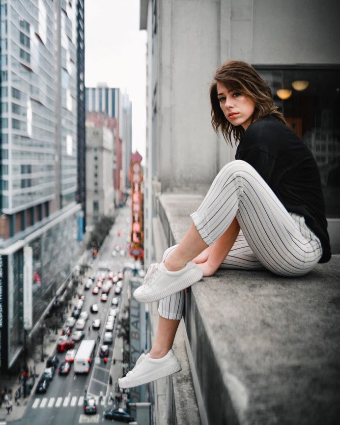 Vibrant and Moody Street Portrait Photography by Nick Acquaviva