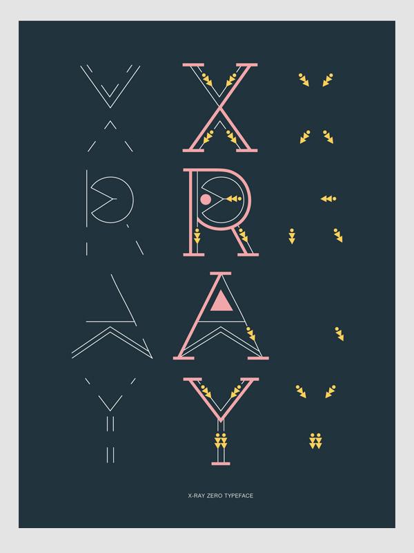 CS Zero #print #color #poster #typography