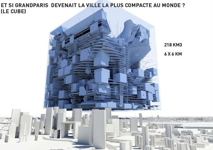 grand paris - le cube #urban