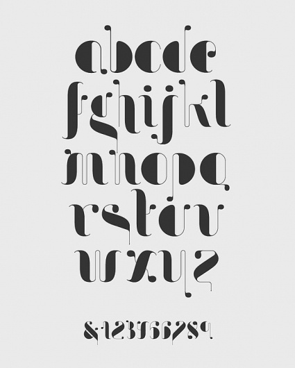 Drops™ Display on Typography Served #typography