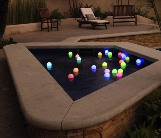 Mood Light Garden Deco Balls #gadget