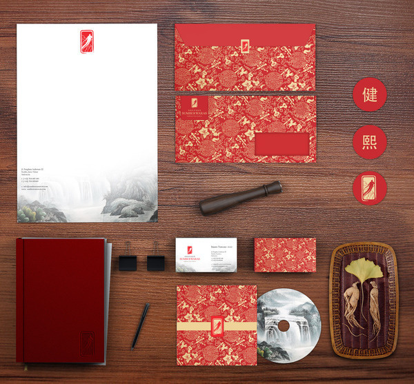 Traditional China Medicine   Authentic China Identity on the Behance Network #red