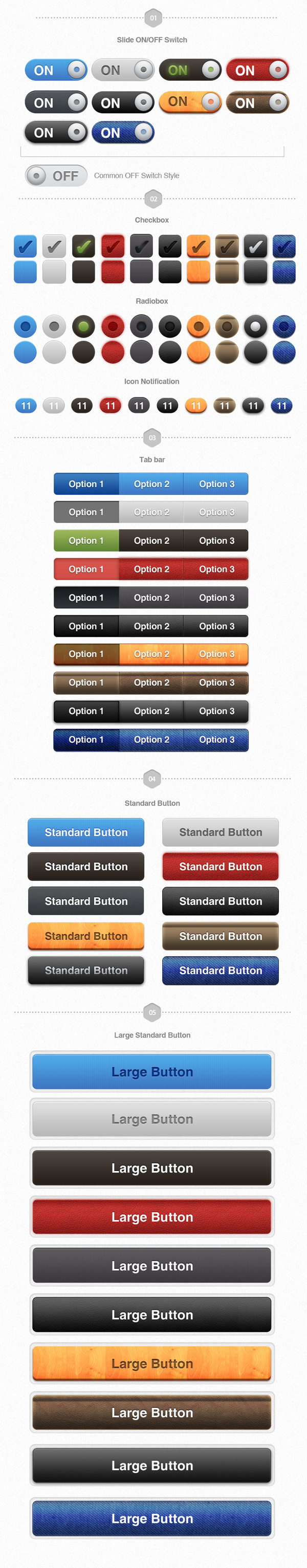 UI Pack for iOS – Build Apps. Awesomely! #controls #design #ui #iphone #element #ios #buttons
